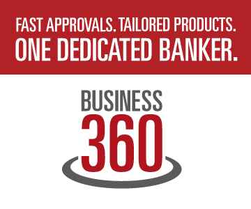 Fast approvals. Tailored products. One dedicated banker. Business 360.