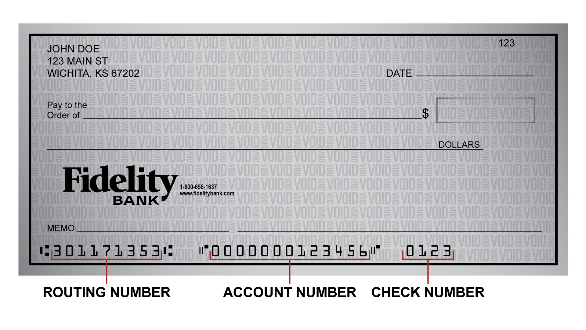 Fidelity Bank Routing Number
